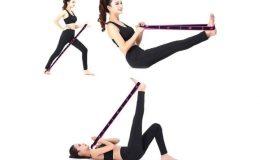 exercice avec bandes de fitness